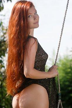 Beauty Nude redhead